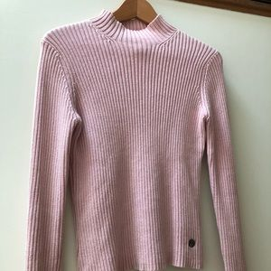 The North Face light pink sweater